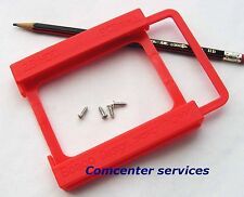 Plastic Bracket tray for ssd 2.5 to 3.5 Caddy Adaptor Mounting