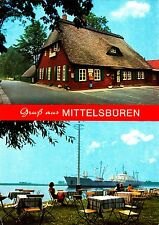 """Bremen , Gaststätte """"Zur Moorlosen Kirche"""" , Ansichtskarte , beschriftet"""