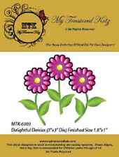 ".6/""  NEW My Treasured Kutz 4071 /""Minature 3D Nature/'s Beauty Dahlia/"" Size"