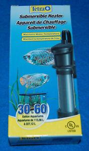 Tetra Submersible Heater (30-60 gallon, 200 watt), New