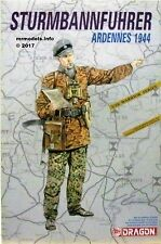 Dragon 1/16 Military Figure Plastic Model Kit Figures 1 16 1602 Sturmbannfuhrer Ardennes 1944