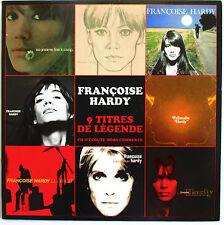 """FRANÇOISE HARDY - CD PROMO """"9 TITRES DE LEGENDE"""""""