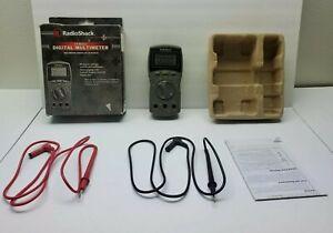Radio Shack 29 Range Digital Multimeter 2200813 CIB Test Leads Manual TESTED