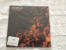 """RARE Coldplay Trouble 7"""" single Limited Edition Numbered Vinyl"""