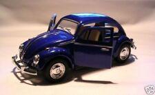 VW MAGGIOLINO 1:3 2 BLU Modellino Auto Metallo VOLKSWAGEN