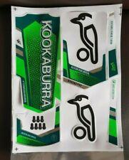 Cricket Bat Stickers Embossed - Kookaburra Kahuna Pro