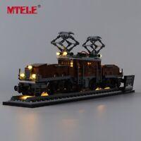 LED Light Up Kit For LEGO 10277 Crocodile Locomotive Lighting Set LEGO Creator