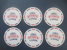 6  STONES GREEN GINGER & SODA  Spirits Australian Issue collectable COASTERS