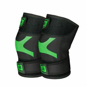 ROCKBROS Cycling Shin Pad Calf Guard Protector Knee Pad Cover Leg Warmers Black