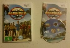 Nintendo Wii, Survivor - Aus Pal Game - Complete - Fast Free Post! VGC! Rare!!!