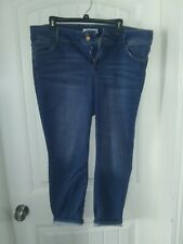 Women's Almost Famous Mid-rise Skinny Size 18 Ankle Jeans
