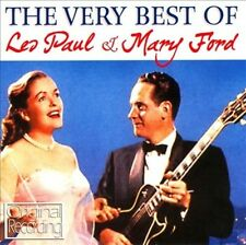 LES PAUL & MARY FORD - THE VERY BEST OF LES PAUL AND MARY FORD NEW CD