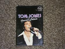 TOM JONES Live At CAESAR'S PALACE (Cassette Tape)
