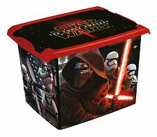 Coffre à jouets à boîte Fashion-Box Disney Star Wars 20 L, noir space