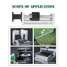 "4"" /100mm Manual Sliding Table Ball Screw Linear Stage SFU1605 CNC Slide Stroke"