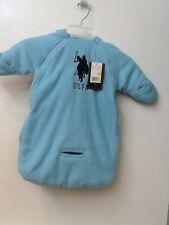 US POLO ASSN SNOW SUIT COAT WINTER Blue BABY 0-9 M New NWT