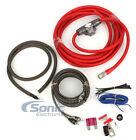 Rockford Fosgate RFK4I 4 AWG Gauge Power/Signal Installation Amplifier/Amp Kit