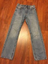 Boys Old Navy Straight Fit Jeans Size 12 Slim Adjustable Waist