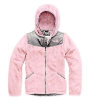 The North Face Oso Fleece Hoodie Jacket Purdy Pink Girls Size L 14/16 Zip Up