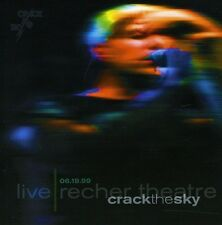 Live: Recher Theatre 06/19/99 - Crack The Sky (2011, CD NEUF)