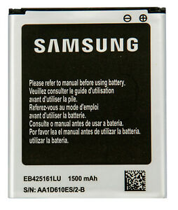 Samsung Galaxy 1500 mAh Battery EB425161LU for S3 Mini Ace 2 i8160 Duos i8190