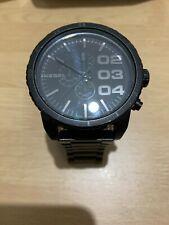 Diesel Men Watch Dz-4207 Water Resistant Black Wristwatch.