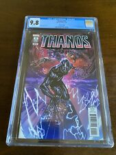 Thanos #15 (2018) 4th Print Variant 1st Fallen One [CGC 9.8] Silver Surfer Black