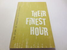 Their Finest Hour The STory of Tennessee Baptist Schools vintage paperback