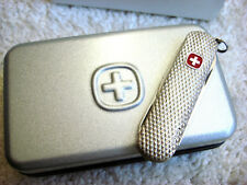 Wenger / Victorinox Sterling Silver Rare Esquire Knife - Fine High Class Gift