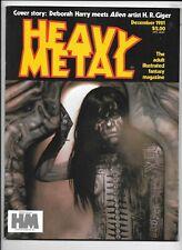 Heavy Metal Magazine Vol 5 #9 December 1981 Corben H R Giger Caza VF 1977 Series