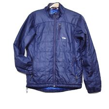 Outdoor Research Mens Size S Blue Winter Jacket