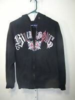 Billabong mens hoodie,  Black, front logo - Size Small Regular