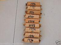 QB94 1994  WASHINGTON QUARTER 40 COINS (MIXED P,D)  CIRCULATED  ROLL