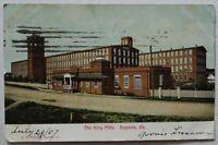 Augusta Georgia Postcard 1907 King Mills (d975)