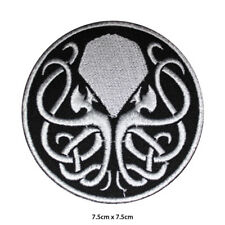 Cthulhu Punk Movie Embroidered Patch Iron on Sew On Badge For Clothes Bags etc