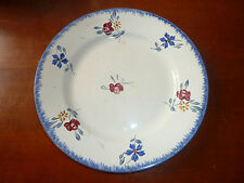 assiette plate en céramique de Digoin Sarreguemines modèle MARY LOU art pop