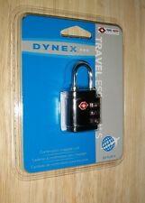 New! Dynex™ - Conair Travel Smart 3-Dial Combination Lock Sealed free shipping