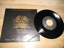 "QUEEN ""BOHEMIAN RHAPSODY/THESE ARE THE DAYS OF OUR LIVES"" USED 7 "" WEST GERMANY+"