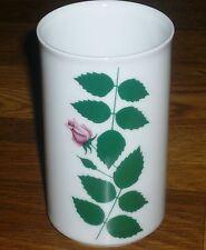 1 kleine Vase Tischvase  Arzberg Form  2050  Rosenblätter  Löffelhardt