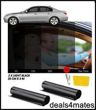 WINDOW TINT FILM TINTING LIGHT BLACK  KIT 50% 50cm x 6M