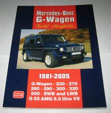 Bildband Ultimate Portfolio Mercedes G-Modell W460 W461 W463, Baujahre 1981-2005