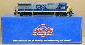 Atlas O CSX Dash 8-40B Diesel Engine O-Scale/2-Rail USED