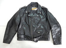 SCHOTT PERFECTO VINTAGE MOTORCYCLE JACKET GIACCA PELLE LEATHER CHIODO