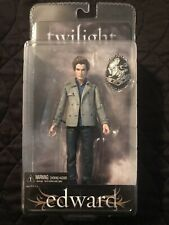 TWILIGHT MOVIE EDWARD CULLEN ACTION FIGURE by NECA - NEW - 2008