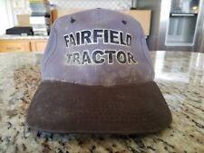 FAIRFIELD TRACTOR CO, INC. TRACTOR COMBINE FARMING TRUCKER VELCRO HAT CAP SC