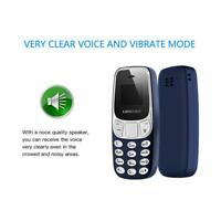 BM10 Mini GSM Mobile portable 2x SIM Téléphone casque Bluetooth Dialer MP3 Bleu