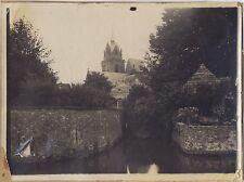 Calais ? 2 Photos Vintage argentque ca 1920