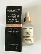 Revolution Skincare 2% Hyaluronic Acid Plumping & Hydration Solution Vegan 30ml