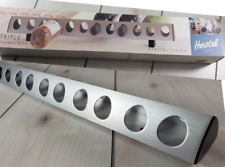 New HERSTAL Danish Metal Wine Rack Countertop Wall Mount Scandinavian Design  X2
