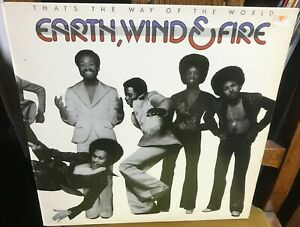 EARTH,WIND & FIRE that's the way of the world 1975 UK CBS VINYL LP 1ST PRESSING